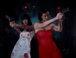 Furious Vengeance II by Vincent Kamp -  sized 63x48 inches. Available from Whitewall Galleries